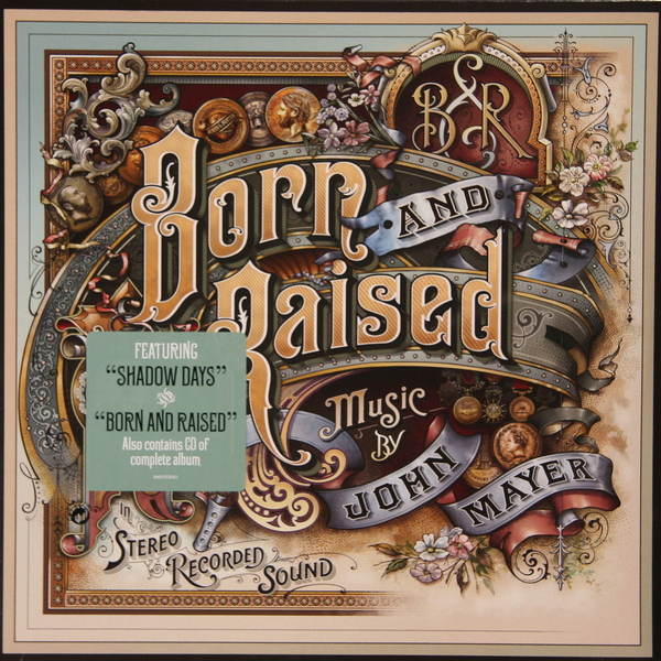цена на John Mayer John Mayer - Born And Raised (2 Lp + Cd)