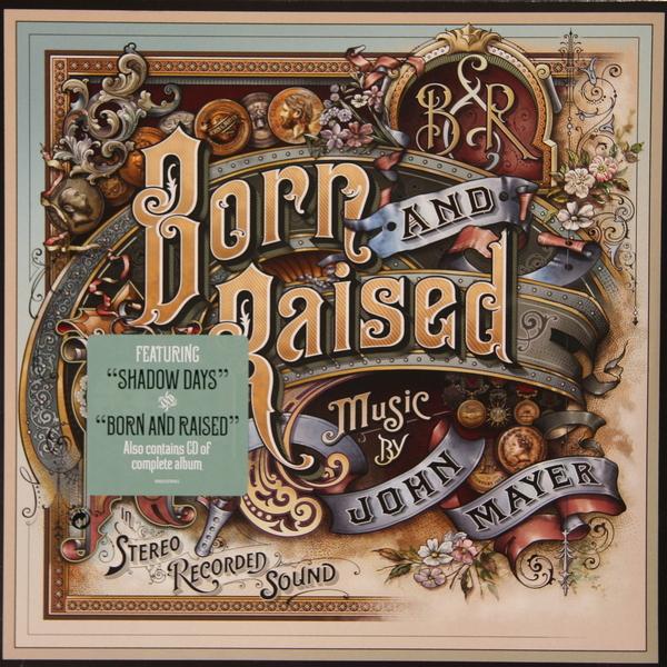 John Mayer John Mayer - Born And Raised (2 Lp + Cd) elton john elton john diving board 2 lp cd dvd
