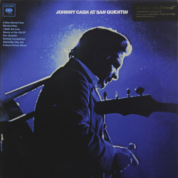 Johnny Cash Johnny Cash - At San Quentin (180 Gr) виниловые пластинки johnny cash the sound of 180 gram