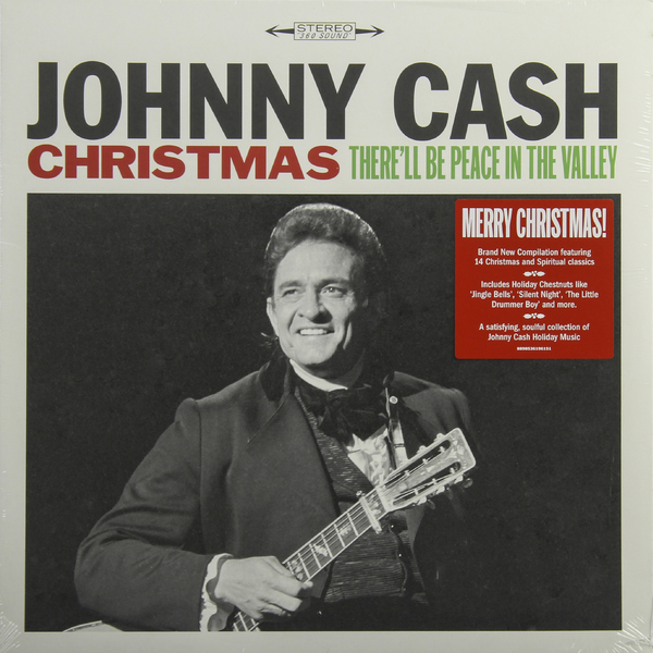 Johnny Cash Johnny Cash - Christmas: There'll Be Peace In The Valley виниловые пластинки johnny cash the sound of 180 gram