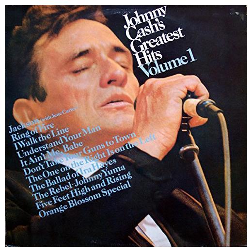 Johnny Cash Johnny Cash - Greatest Hits (volume 1) johnny