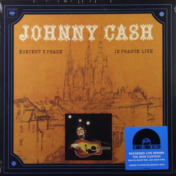 купить Johnny Cash Johnny Cash - Koncert V Praze (in Prague Live) недорого