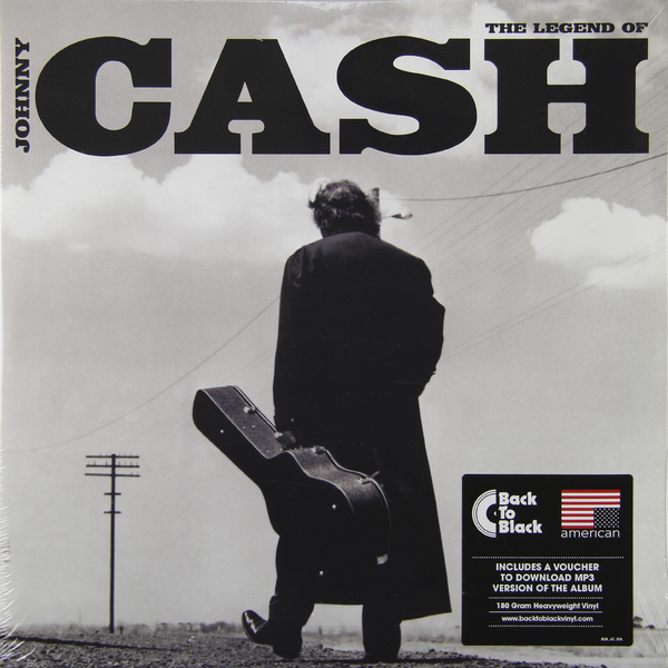 Johnny Cash Johnny Cash - Legend Of (2 Lp, 180 Gr)