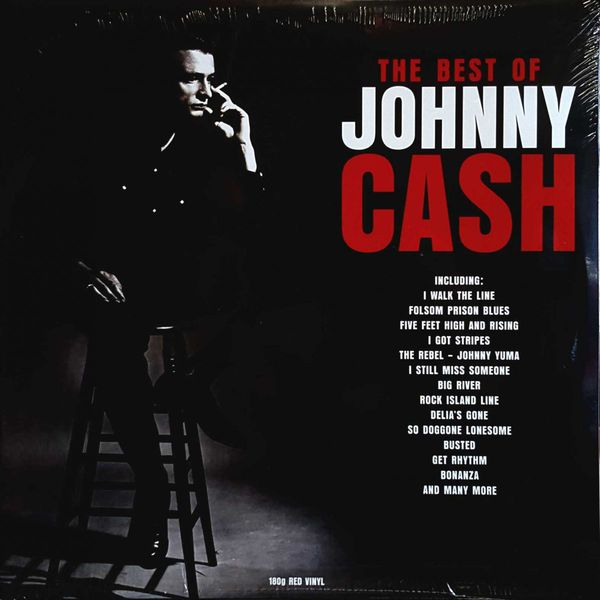 Johnny Cash Johnny Cash - The Best Of (2 Lp, Colour) johnny cash johnny cash legend of 2 lp 180 gr