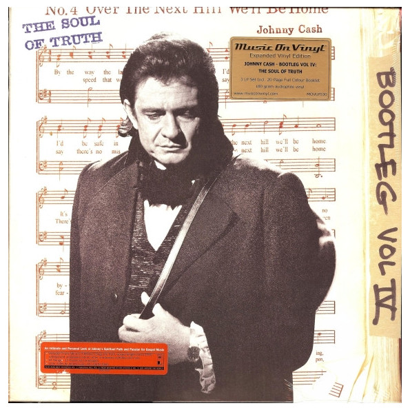 Johnny Cash Johnny Cash - The Bootleg Series Vol. 4: The Soul Of Truth (3 LP) cd johnny cash out among the stars