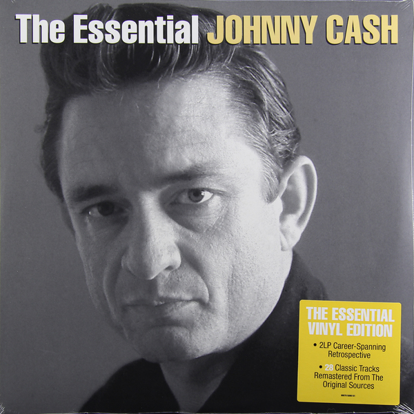 Johnny Cash Johnny Cash - The Essential Johnny Cash (2 LP) виниловые пластинки johnny cash the sound of 180 gram
