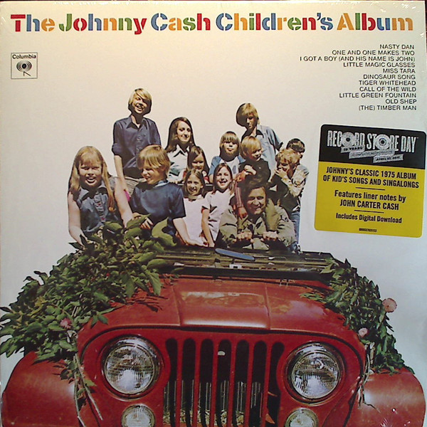 Johnny Cash Johnny Cash - The Johnny Cash Children's Album виниловые пластинки johnny cash the sound of 180 gram