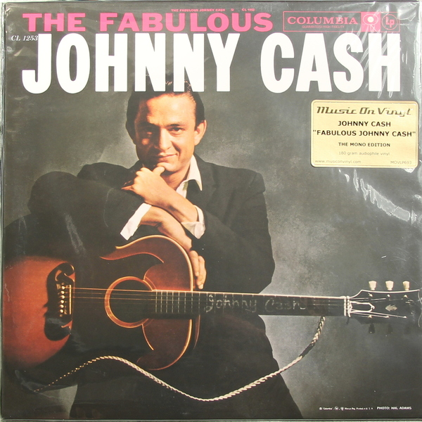 Johnny Cash Johnny Cash - Fabulous Johnny Cash виниловые пластинки johnny cash the sound of 180 gram