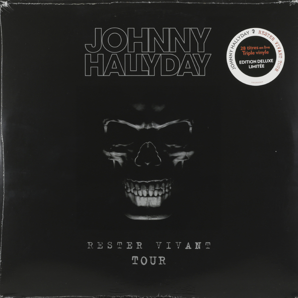 Johnny Hallyday Johnny Hallyday - Rester Vivant Tour (3 Lp, 180 Gr) guano apes guano apes proud like a god 180 gr colour