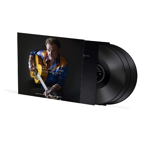 Johnny Hallyday - Son Reve Americain Live Au Beacon Theatre De New-york 2014 (180 Gr, 3 LP)