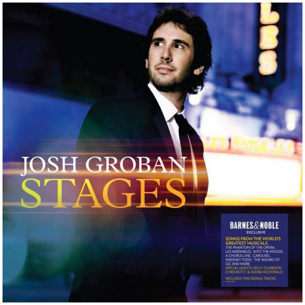 Josh Groban Josh Groban - Stages (2 LP) цена