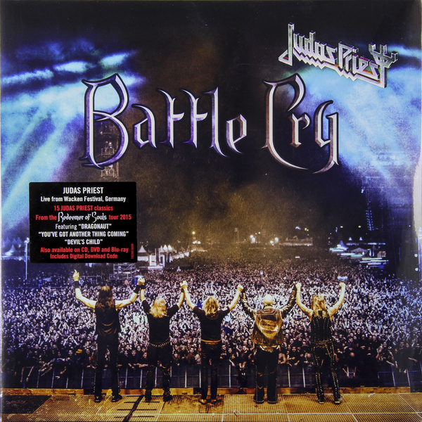 Judas Priest Judas Priest - Battle Cry (2 LP) printio толстовка с полной запечаткой judas priest