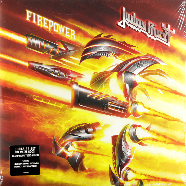 Judas Priest Judas Priest - Firepower (2 LP) цена