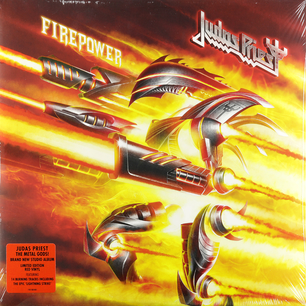 Judas Priest Judas Priest - Firepower (2 Lp, Colour) printio толстовка с полной запечаткой judas priest