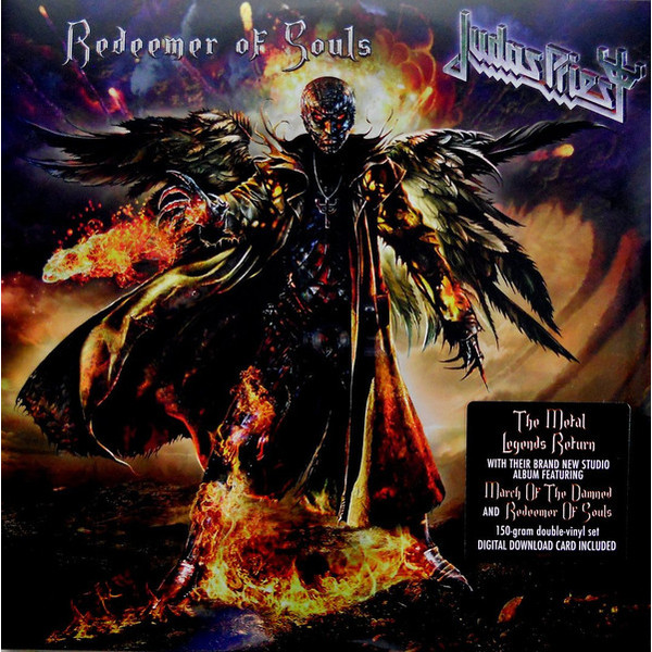 Judas Priest Judas Priest - Redeemer Of Souls (2 LP) judas priest mannheim