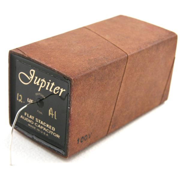 Конденсатор Jupiter Condenser Jupiter Vintage Flat Stacked Cryo Beeswax-Paper 100V 12 uF