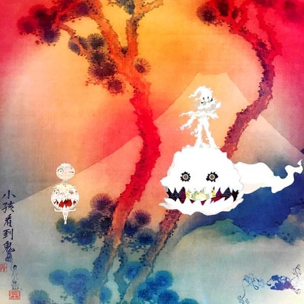Kanye West / Kid Cudi CudiKanye - Kids See Ghosts (colour)