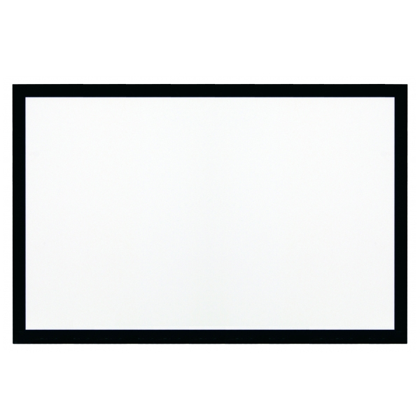 Экран для проектора Kauber Frame Velvet (2.40:1) 128 125x300 White Flex high definition projector screen 135 inch 2 35 by 1 fixed projection screens aluminum black velvet frame