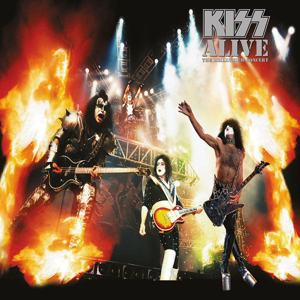 KISS KISS - Alive – The Millennium Concert (2 LP) kiss kiss rocks vegas 2 lp dvd