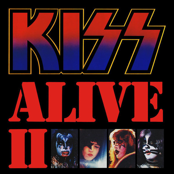 KISS KISS - Alive Ii (2 LP) kiss kiss rocks vegas 2 lp dvd