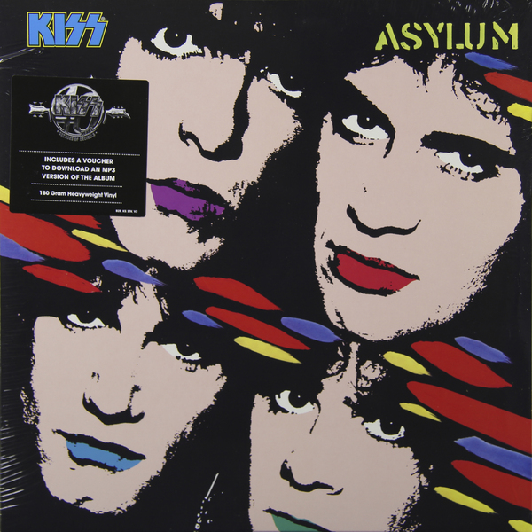 KISS KISS - Asylum (180 Gr) kiss kiss creature of the night 180 gr