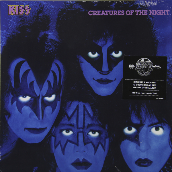 KISS KISS - Creature Of The Night (180 Gr) бокс для хранения вещей kiss the plastic industry