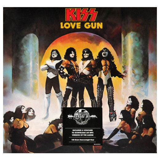 KISS KISS - Love Gun kiss kiss monster lp