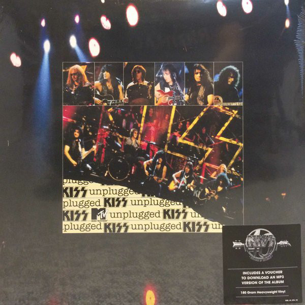 KISS KISS - Mtv Unplugged (2 LP) kiss kiss rocks vegas 2 lp dvd