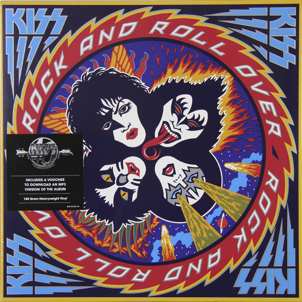 KISS KISS - Rock And Roll Over (180 Gr) kiss kiss carnival of souls the final sessions 180 gr