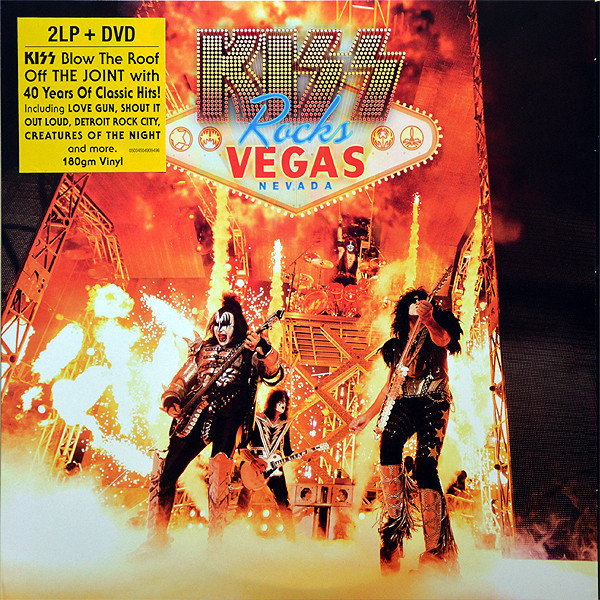 KISS KISS - Rocks Vegas (2 Lp+dvd) kiss kiss monster lp