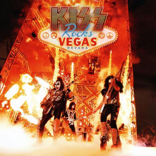 KISS - Rocks Vegas (colour, 2 Lp + Dvd)