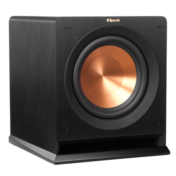 Активный сабвуфер Klipsch R-110SW Black активный сабвуфер mj acoustics kensington black ash