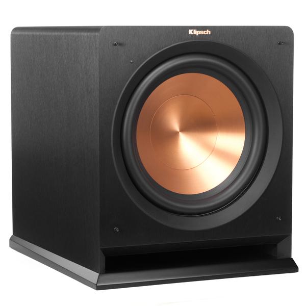 Активный сабвуфер Klipsch R-112SW Black активный сабвуфер mj acoustics kensington black ash