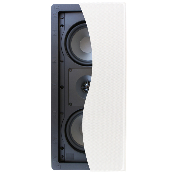 Встраиваемая акустика Klipsch R-2502-W II White встраиваемая акустика klipsch r 2650 csm ii white