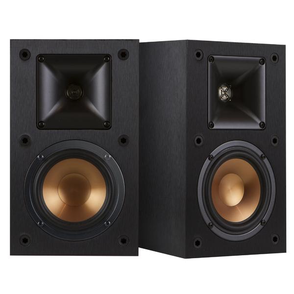 Полочная акустика Klipsch Reference R-14M Black напольная акустика klipsch reference r 26f black