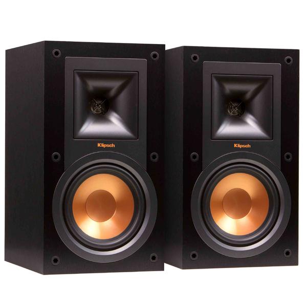 Полочная акустика Klipsch Reference R-15M Black напольная акустика klipsch reference r 26f black
