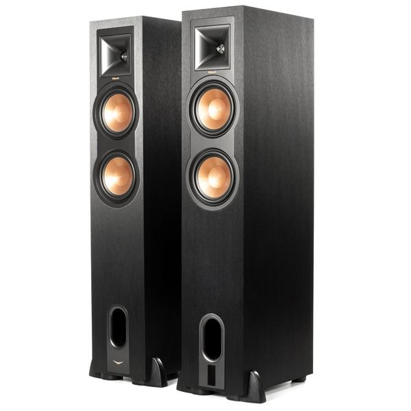 цена на Активная напольная акустика Klipsch R-26PF Black