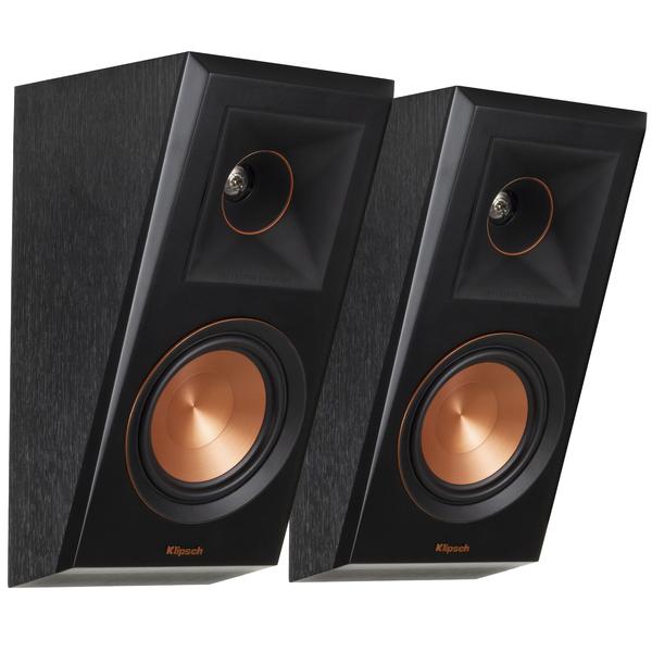 Специальная тыловая акустика Klipsch RP-500SA Ebony напольная акустика klipsch rp 250f ebony