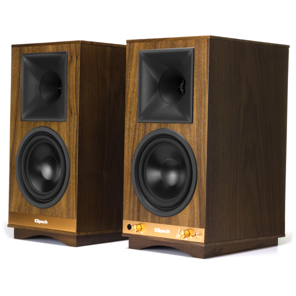 Активная полочная акустика Klipsch The Sixes Walnut акустика центрального канала paradigm prestige 45c black walnut
