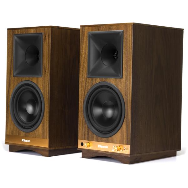 Активная полочная акустика Klipsch The Sixes Walnut полочная акустика klipsch rp 600m walnut