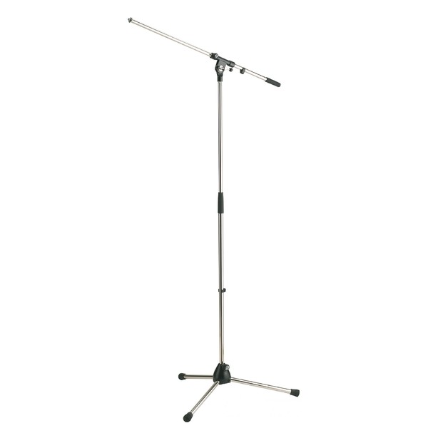 Микрофонная стойка K&M 21020-300-01 микрофонная стойка quik lok a344 bk