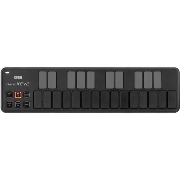 MIDI-клавиатура Korg nanoKEY2 Black midi клавиатура korg microkey2 air 37