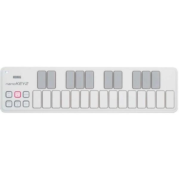 MIDI-клавиатура Korg nanoKEY2 White korg nanokey2 bk