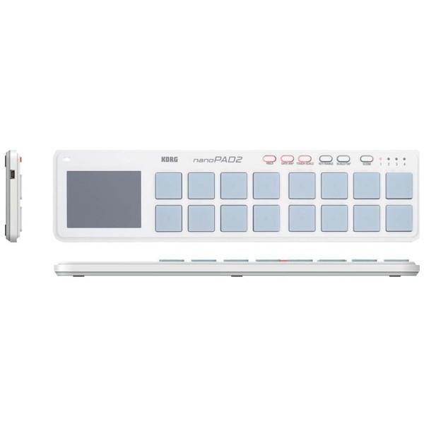 MIDI-контроллер Korg nanoPAD2 White midi контроллер arturia beatstep white