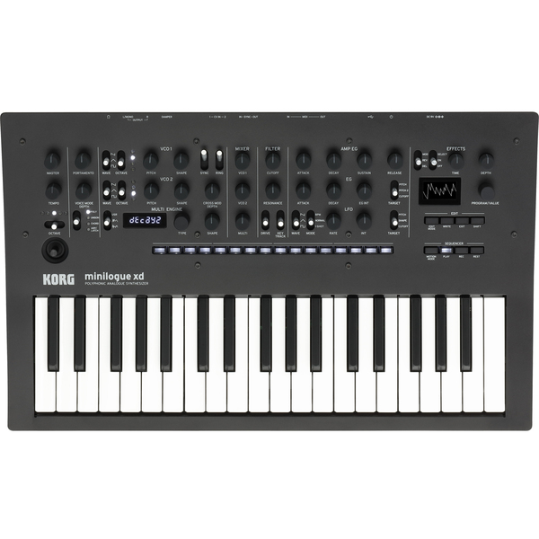 Синтезатор Korg Minilogue xd Black/Wood