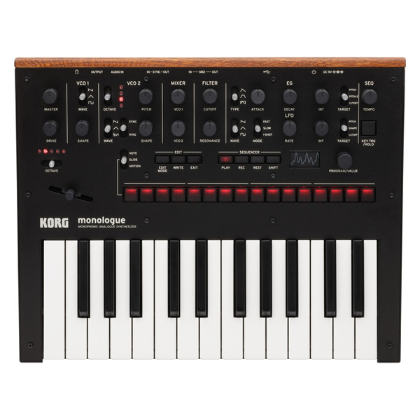 Синтезатор Korg Monologue Black korg g1 bk