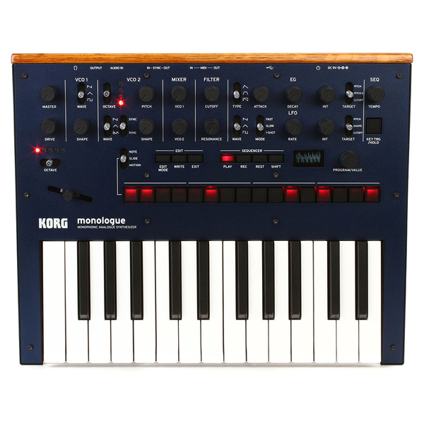 Синтезатор Korg Monologue Blue