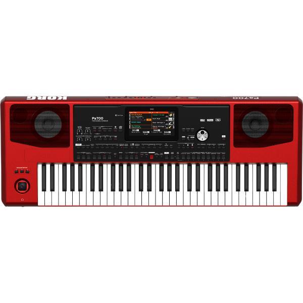 Синтезатор Korg Pa700 Red синтезатор rolsen rkb6102 61 клавиша usb черный