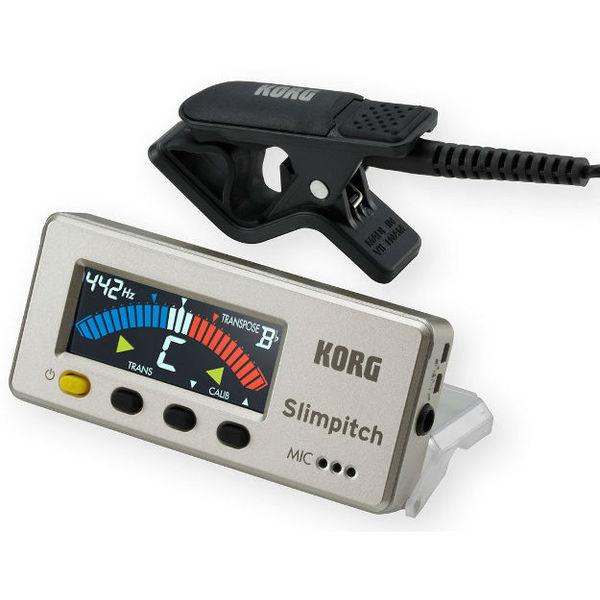Гитарный тюнер Korg Slimpitch SLM-1CM тюнер и метроном korg pc 1 pitchclip