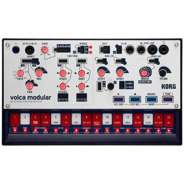 Синтезатор Korg Volca Modular korg volca sample playback rhythm machine tweak play and sequence samples volca style